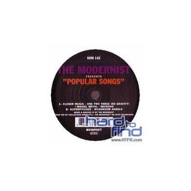 Modernist PRESENTS POPULAR SONGS Vinyl Record