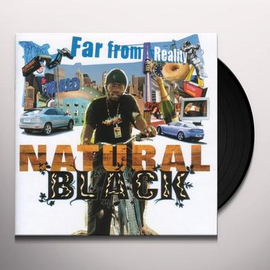 Natural Black FAR FROM REALITY Vinyl Record