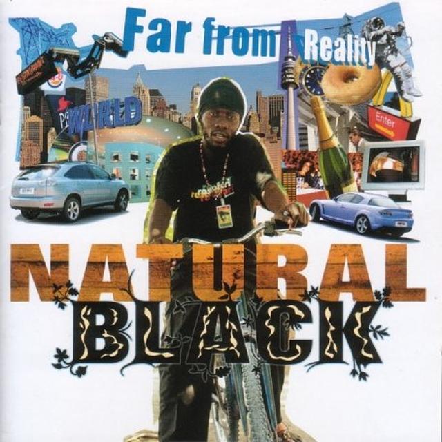 Natural Black FAR FROM REALITY Vinyl Record
