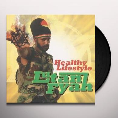 Lutan Fyah HEALTHY LIFESTYLE Vinyl Record