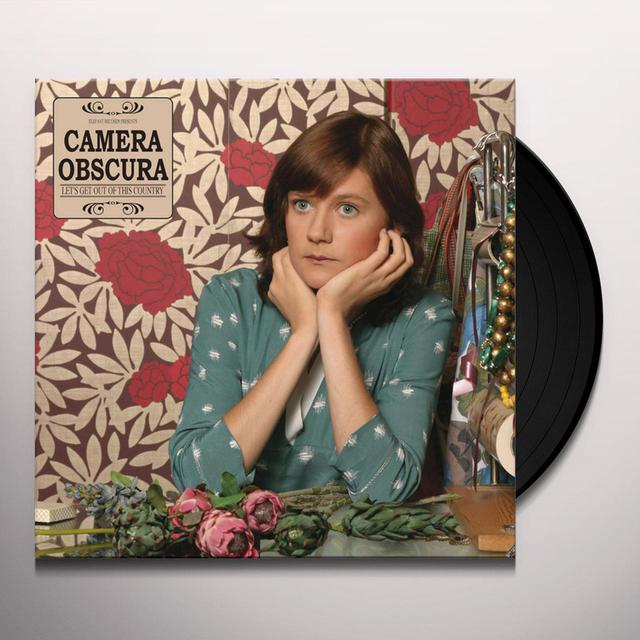 Camera Obscura LET'S GET OUT OF THIS COUNTRY Vinyl Record