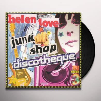 Helen Love JUNK SHOP DISCOTHEQUE Vinyl Record - Limited Edition