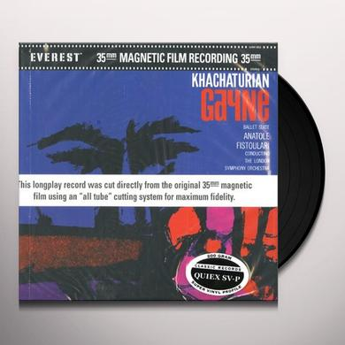 Khachaturian / Fistoulari GAYNE BALLET SUITE (200 GRAM) Vinyl Record
