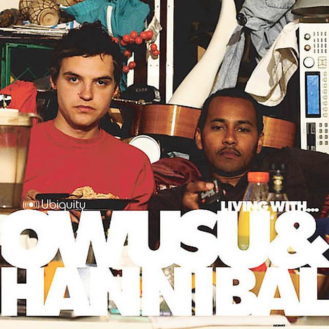 LIVING WITH OWUSU & HANNIBAL Vinyl Record