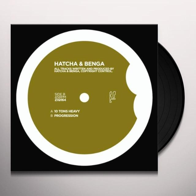 Hatcha & Benga 10 TONS HEAVY Vinyl Record