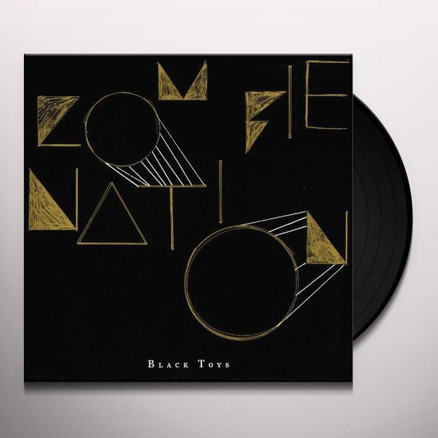 Zombie Nation BLACK TOYS Vinyl Record