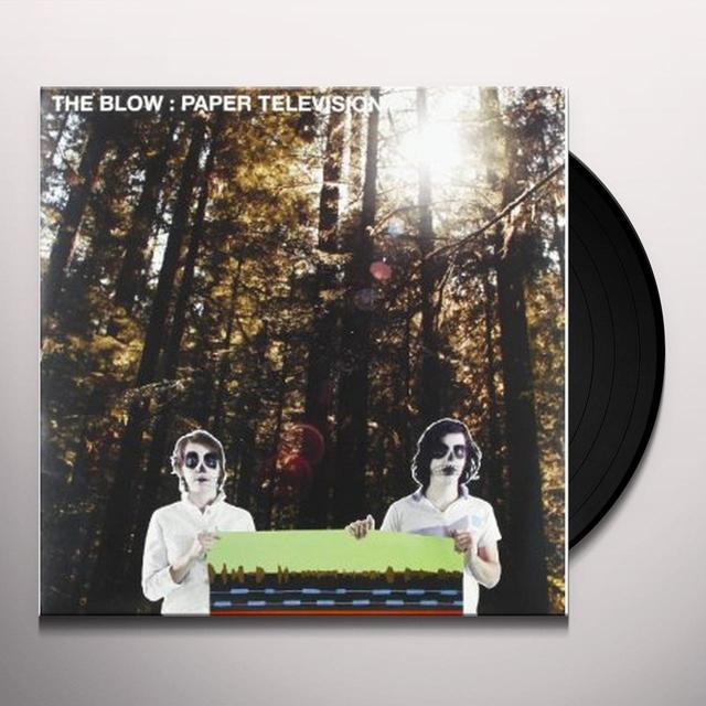 Blow PAPER TELEVISION Vinyl Record