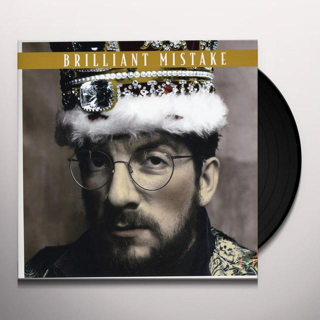 Elvis Costello BRILLIANT MISTAKE / TRUE LOVE WAYS Vinyl Record