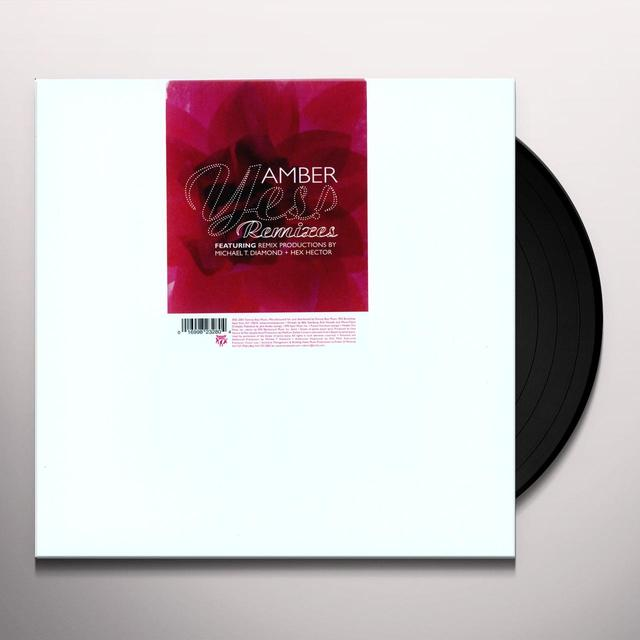Amber YES Vinyl Record