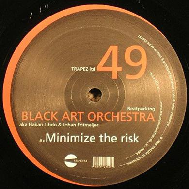 Black Art Orchestra BEATPACKING Vinyl Record