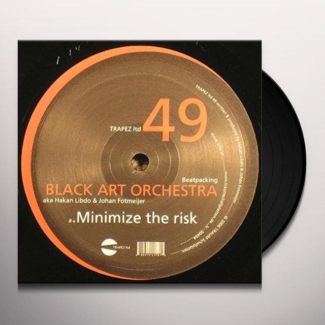 Black Art Orchestra BEATPACKING Vinyl Record