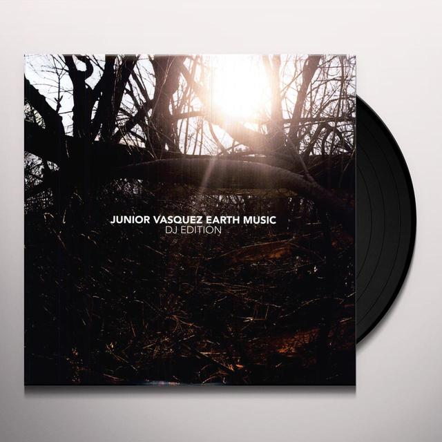 Junior Vasquez EARTH MUSIC - DJ EDITION Vinyl Record