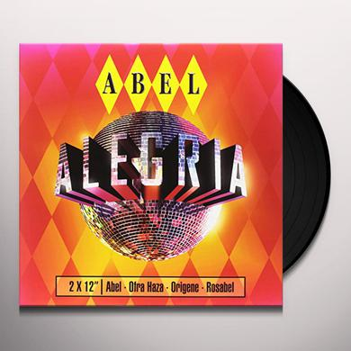 Abel ALEGRIA EP Vinyl Record