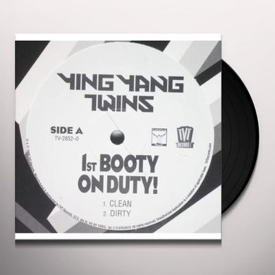 Ying Yang Twins 1ST BOOTY ON DUTY Vinyl Record
