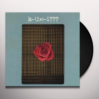 K-The-I BROKEN LOVE LETTER Vinyl Record