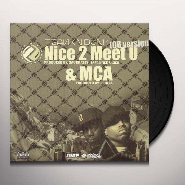 Frank N Dank NICE 2 MEET U / MCA Vinyl Record