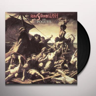 The Pogues RUM SODOMY & THE LASH Vinyl Record