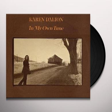 Karen Dalton IN MY OWN TIME Vinyl Record - Remastered, Reissue