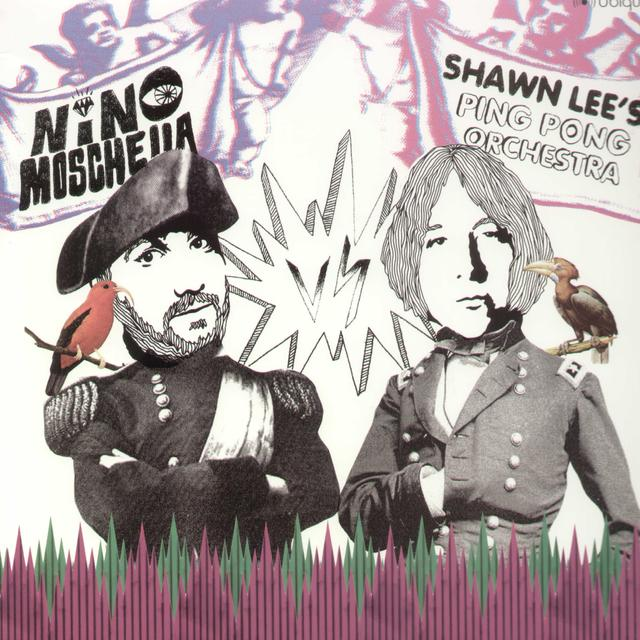 Shawn Lee / Nino Moschella KISS THE SKY EP Vinyl Record