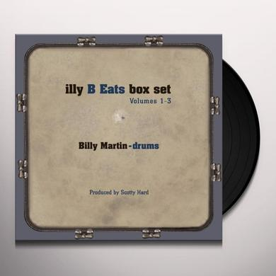 Billy Martin ILLY B EATS BOX SET 1-3 Vinyl Record