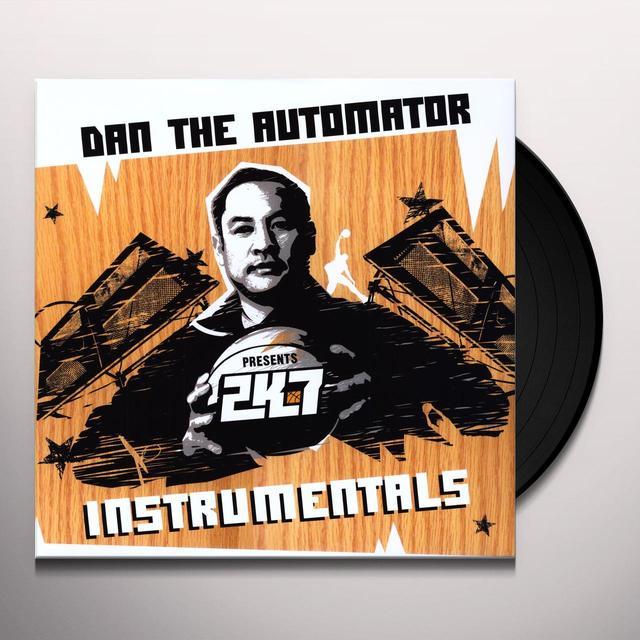 Dan The Automator 2K7 INSTRUMENTALS Vinyl Record