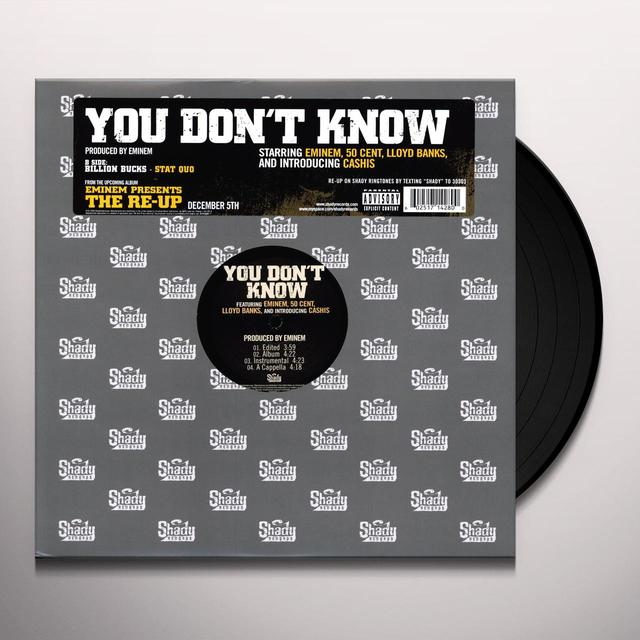 Eminem YOU DON'T KNOW (X4) (Vinyl)