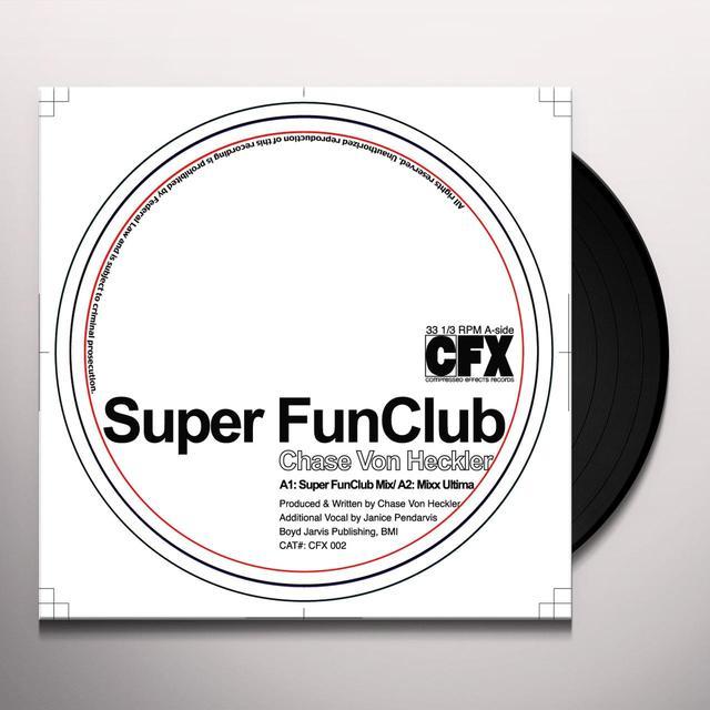 Chase Von Heckler FUNCLUB Vinyl Record