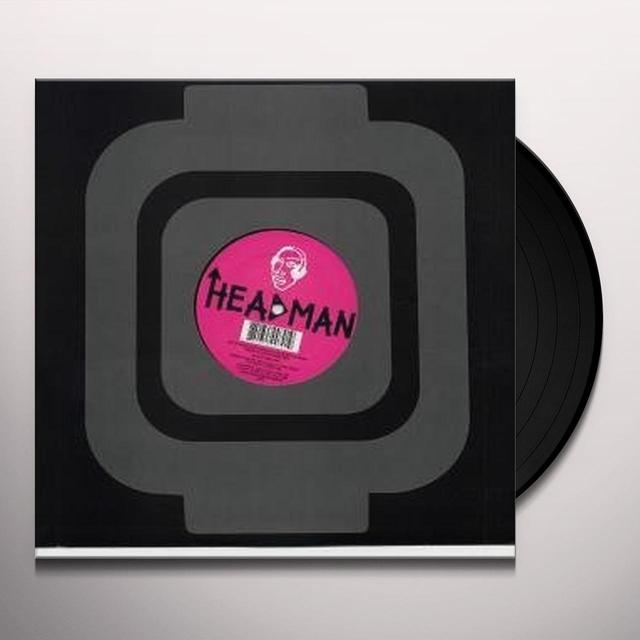 Headman MOISTURE REMIXES Vinyl Record