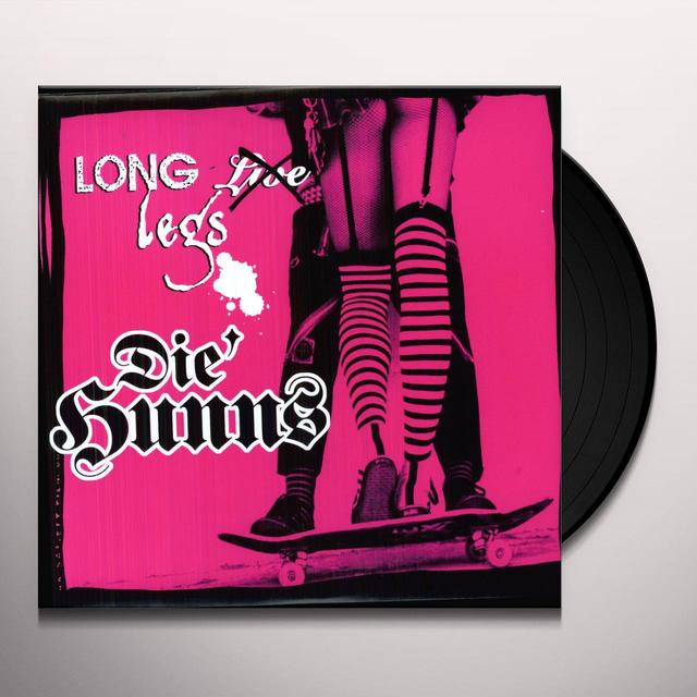Die Hunns LONG LEGS Vinyl Record - Limited Edition