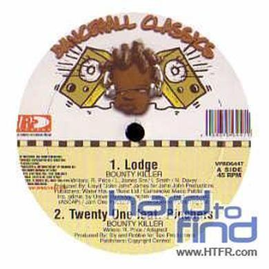Bounty Killer LODGE Vinyl Record