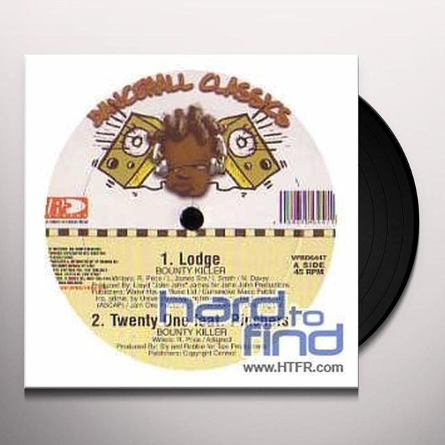 Bounty Killer LODGE Vinyl Record