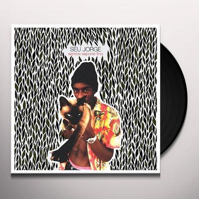 Seu Jorge CAROLINA Vinyl Record