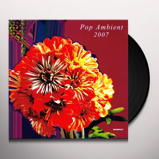 POP AMBIENT 2007 / VARIOUS Vinyl Record