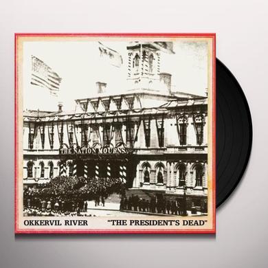 Okkervil River PRESIDENT'S DEAD / ROOM I'M HIDING IN Vinyl Record