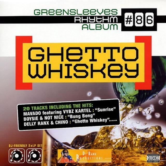 GHETTO WHISKEY: RHYTHM ALBUM 86 / VARIOUS Vinyl Record