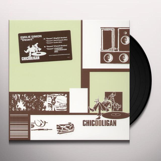 Emilie Simon DESERT Vinyl Record