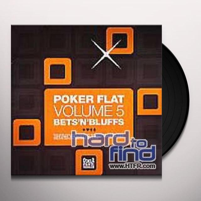 POKER FLAT 5: BETS N BLUFFS / VARIOUS Vinyl Record
