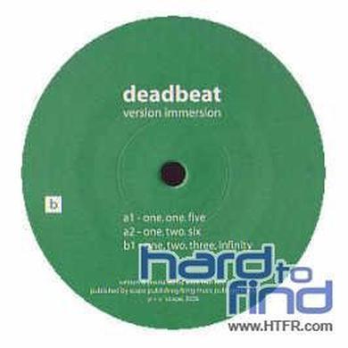 Deadbeat VERSION IMMERSION Vinyl Record