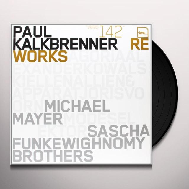 "Paul Kalkbrenner REWORKS / 12"" NO 3 (EP) Vinyl Record"
