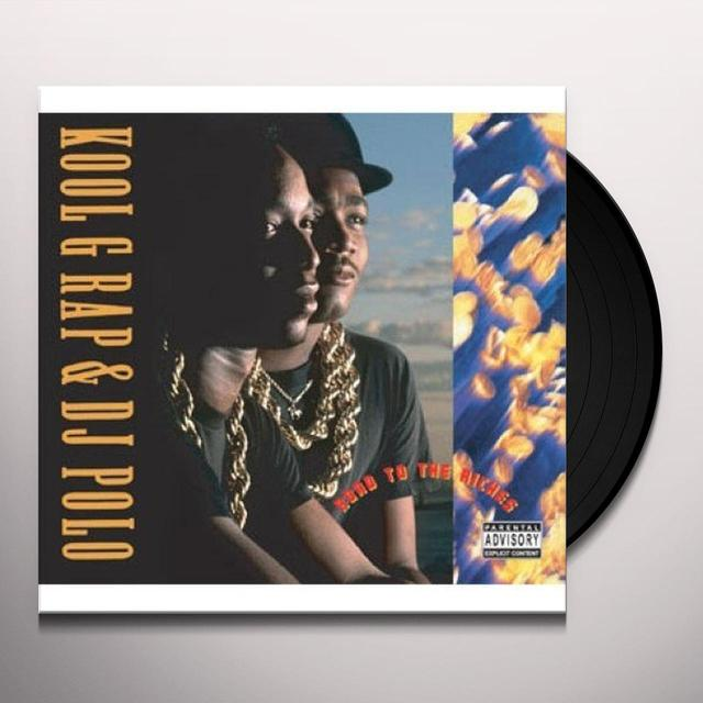Kool G Rap & Dj Polo ROAD TO THE RICHES Vinyl Record - Remastered