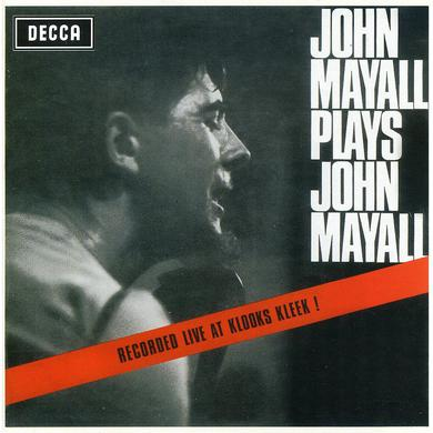 John Mayall & The Bluesbreakers PLAYS JOHN MAYALL: LIVE AT THE KLOCKS KLEEK CD
