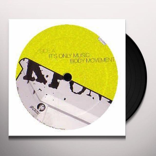 Fuckpony IT'S ONLY MUSIC EP Vinyl Record