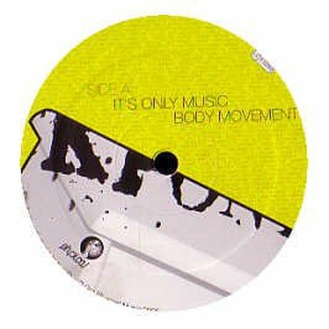 Fuckpony IT'S ONLY MUSIC EP (EP) Vinyl Record