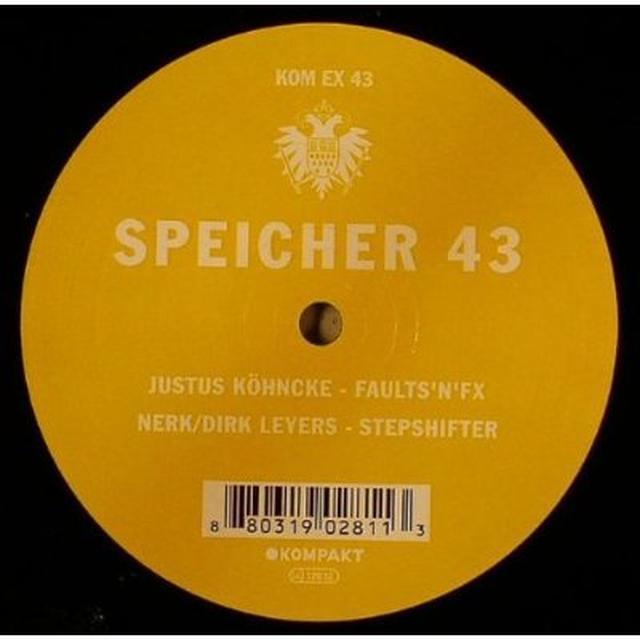 Justus Kohncke / Nerk / Dirk Leyers SPEICHER 43 Vinyl Record