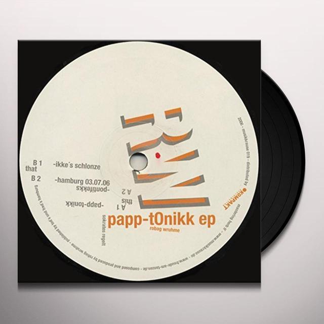 Robag Wruhme PAPP-TONIKK EP (EP) Vinyl Record