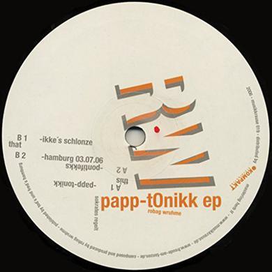 Robag Wruhme PAPP-TONIKK EP Vinyl Record