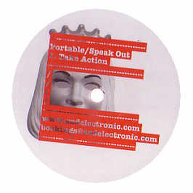 Portable SPEAK OUT Vinyl Record
