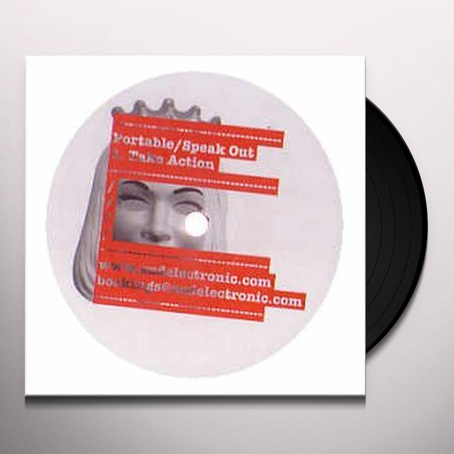 Portable SPEAK OUT Vinyl Record