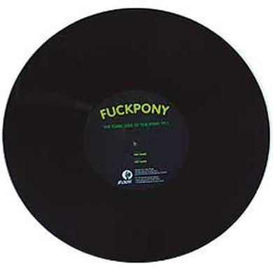 Fuckpony DARK SIDE OF THE PONY PT 1 Vinyl Record