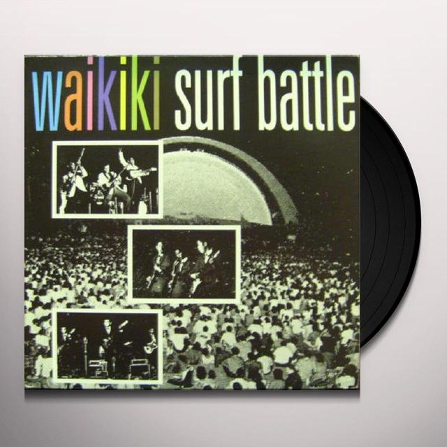 WAIKIKI SURF BATTLE / VARIOUS Vinyl Record
